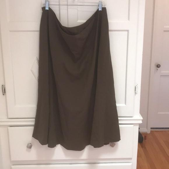 Lauren Ralph Lauren Dresses & Skirts - Olive green wool RL skirt